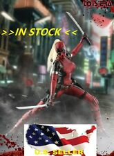 1/6 Lady Deadpool Wanda Wilson Sexy Hot Figure Toys Full Set Katana IN STOCK