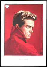 bozzetto  cinema WARREN BEATTY dal film SPLENDORE ERBA 1961 gasparri