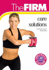 Toning Body Sculpting EXERCISE DVD - THE FIRM Core Solutions - 3 Workouts!