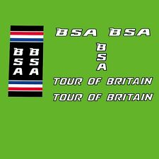B.S.A. Tour of Britain Bicycle Decals, Transfers, Stickers n.12