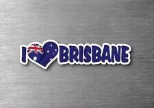 I Love Brisbane sticker quality 7 year water & fade proof vinyl laptop car