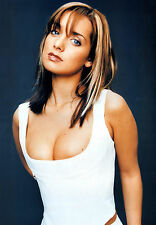 LOUISE REDKNAPP - BOOBS - SEXY A4 SIZE GLOSSY PHOTO.