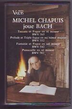cassette audio Bach -- interpreté par michel chapuis -