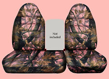 AFCC Ford F150 40-60 seat Highback camo tree car seat covers,NO CONSOLE COVER