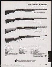 2005 WINCHESTER 1300 Universal Hunter, Ranger, 9410 Packer Shotgun AD