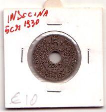 Indonesia 5 cent 1930 Spl  XF    KM 18
