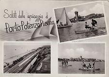 #PORTO POTENZA PICENA: SALUTI DALLA SPIAGGIA