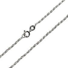 """18"""" Chain Pure 925 Sterling Silver Solid Necklace Jewelry C22-18"""