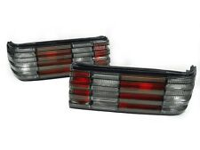 [GSP] 1981-1991 MERCEDES BENZ W126 4D Sedan Euro Red/Smoke Rear Tail Lights Set