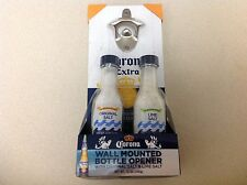 WALL MOUNTED BOTTLE OPENER - WITH ORIGINAL SALT & LIME SALT