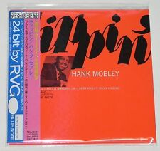 HANK MOBLEY / Dippin'  JAPAN Mini LP CD w/OBI  TOCJ-9101