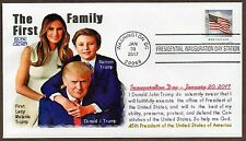 2017 INAUGURATION DAY USPS CANCEL ~ DONALD J. TRUMP ~ GLEN CACHET ENVELOPE
