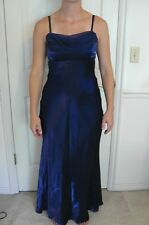 "Night Way Collections ""BLUE FORMAL/PROM/EVENING/WEDDING DRESS"" Size 8"