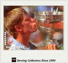 1997 Intrepid Australia Tennis Trading Card Victory Subset V7 Yevgeny Kafelnikov