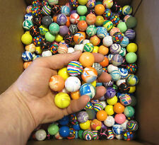 "50 NEW SUPER HIGH BOUNCE BALLS 27MM 1"" HI BOUNCY SUPERBALL PARTY FAVORS CAT TOY"