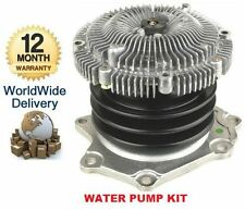 FOR NISSAN MISTRAL IMPORT & TERRANO 2 2.7 TD INTERCOOLER 1993--  WATER PUMP KIT