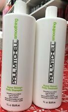 Paul Mitchell Smoothing Super Skinny Daily Shampoo And Treatment 33.8 Oz DUO