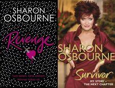 SHARON OSBOURNE __ 2 LIBROS JUEGO __ NUEVO __ ENVÍO GRATIS EN RU