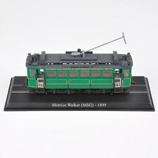 Atlas 1:87th  Green Motrice Walker(MSG)-1899 Tram Vehicle Model Collection