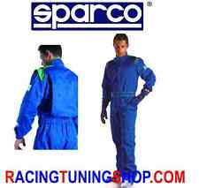 tuta kart sparco indOor per noleggi kart suit for rental taglia L LARGE SIZE