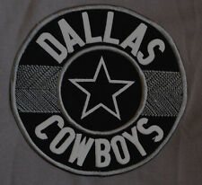 Rare DALLAS COWBOYS Jersey Shirt XL Heavy GRAY V-Neck STYLISH PATCH La Bola Ocho