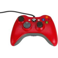 Red Wired Gamepad XBOX360 Controller for Microsoft XBOX 360 Console PC Computer