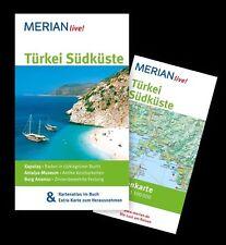 Türkei Südküste: MERIAN live! Mit Kartenatlas im Buch und Extra-Karte zum Heraus