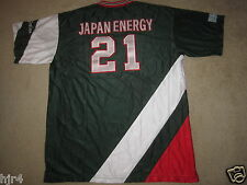 Japan Energy Griffins Basketball Game Used Worn Jersey XL mens