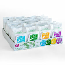24 packs Organic Facial Makeup Remover Wet Wipes with Organic Ingredients