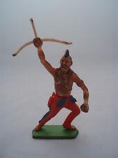 Figurine plastique Collection vintage COFALU Ancien Indien Arc Archer  Far West