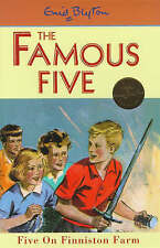 NEW   HARDBACK  (18)  FIVE ON FINNISTON FARM ( FAMOUS FIVE book ) Enid Blyton