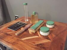 Art Deco Vintage Vanity 9 Piece Set (1920s-1940s) Made in USA  - Antique