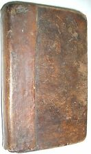 1796 American Imprint.  Treatise of Arithmetic by John Gough, Leather Cover