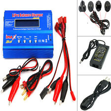 Lipo Nimh Nicd RC Battery Balance Charger Discharger+AC Adapter Plug iMax B6