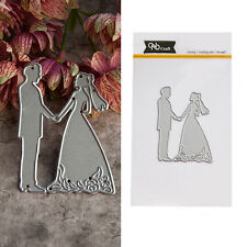 Wedding Cutting Dies Stencil for DIY Paper Cards Scrapbooking Diary Gift Craft