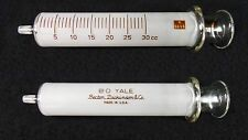 B-D Yale Syringe Glass Needle Reusable Becton Dickinson K5655  EXCELLENT