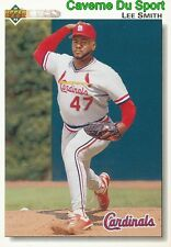 376 LEE SMITH ST. LOUIS CARDINALS BASEBALL CARD UPPER DECK 1992