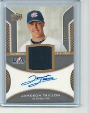 * JAMESON TAILLON * 2009 UD USA PROSPECTS AUTO JERSEY RC # 399