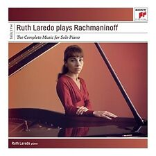 RUTH LAREDO-RUTH LAREDO PLAYS RACHMANINOFF-THE COMPLETE SOL 5 CD NEU
