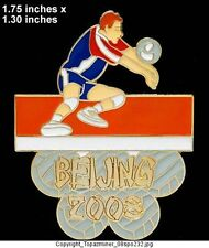 OLYMPIC PIN BEIJING 2008 SPORT VOLLEYBALL LE GOLD 1/100