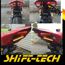 ST1112 DUCATI 959 PANIGALE Fender Eliminator TAIL LED TURN SIGNALS Tag Bracket