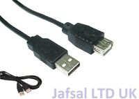 2M High Speed USB Cable 2.0 Extension Booster Repeater Lead A Male to A Female
