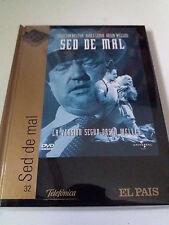 "DVD ""SED DE MAL"" DVD LIBRO DIGIBOOK ORSON WELLES CHARLTON HESTON JANET LEIGH"