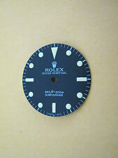 ~ Rolex Vintage #5513 Submariner Matte Black Refinished Dial ~