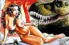 CAVEWOMAN MUTATION #1 BUDD ROOT Special Edition NUDE Cover E Nice! NM New AMRYL