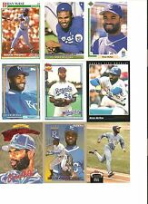 18 CARD BRIAN McRAE BASEBALL CARD LOT !  94