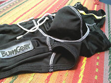 Bumgear Men's Black Swimsuit Bikini Brief - Nylon/Spandex Pouch - Size S NWOT