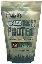 Pulsin Biologique Poudre Protéine Lactosérum 250g