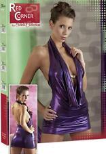 Brillo-vestido, agua caso escote, talla s, red corner, muy sexy-Embalaje original caja de regalo