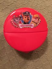 New Paw Patrol Flip Top Snack Container